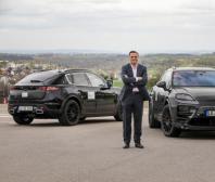 Prototypy čistě elektrického modelu Porsche Macan: digitální i reálné