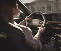 Intuitivní uživatelské prostředí v high-tech kokpitu modelu Kia EV6