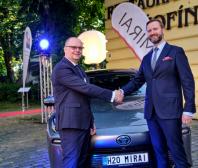 Toyota - cena za přínos k bezemisní dopravě