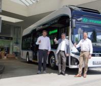 Hyundai Motor - autobusy na vodíkový pohon