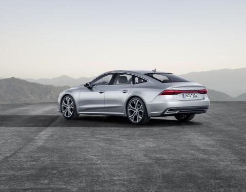 Nové Audi A7 Sportback: Sportovní tvář Audi ve vyšší třídě