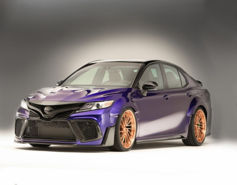 Vytuněná Toyota C-HR jako nejrychlejší crossover na světě