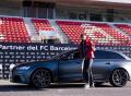 Z trávníku na závodní okruh: Fotbalisté klubu FC Barcelona jezdí ve vozech Audi