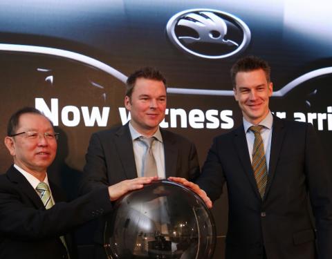 Škoda Auto zahajuje prodej v Singapuru