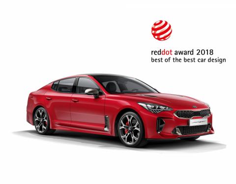 Red Dot Awards 2018: vysoké návrhářské standardy Kia opět oceněny
