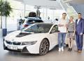David Pastrňák bude o prázdninách jezdit plug-in hybridním sportovním vozem BMW i8