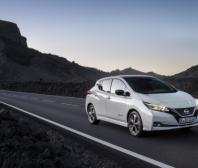 Nissan LEAF je jedničkou v prodeji elektromobilů v Evropě