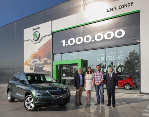 ŠKODA AUTO vyrobila milionté SUV