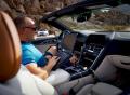 Údolím smrti v prototypu BMW řady 8 Cabrio