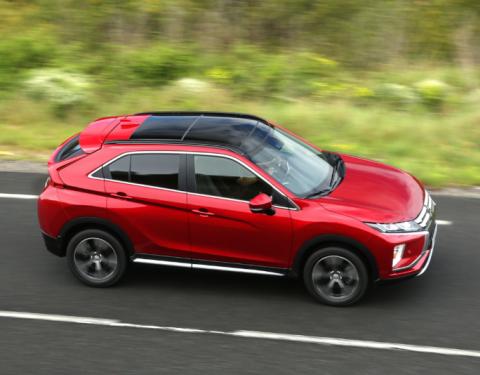 Mitsubishi Eclipse Cross získává pět hvězd