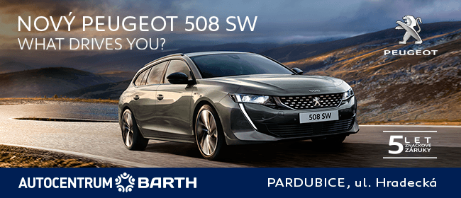 Nový PEUGEOT 508 SW. What drives you?